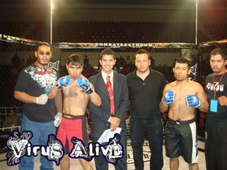 "Combate Extremo: Zirahuen Martinez, Felix ""El Cannibal"" Solis, Roberto Figueroa, Hector Molina, Oscar Galvan e Ismael Andrade"